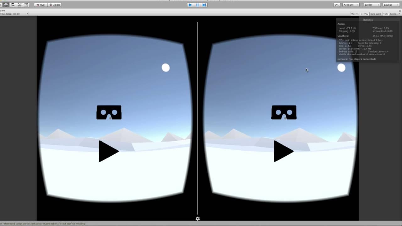 Toggle VR Mode Google Cardboard | Unity Tutorial