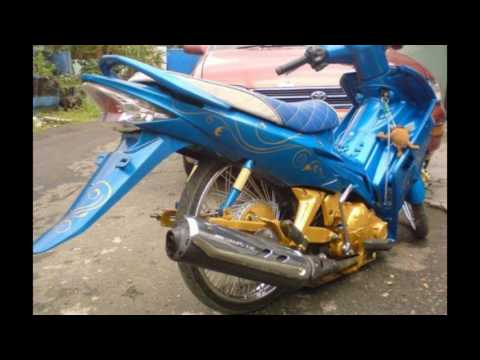 Cah Gagah | Video Modifikasi Motor Yamaha Jupiter MX Airbrush Ceper Keren Terbaru