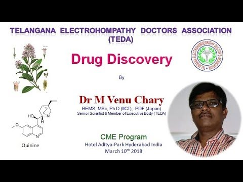 Drug discovery and development process ELECTROHOMEOPATHY MALARIA ALLOPATHY  AYURVEDA HOMEOPATHY, TEDA