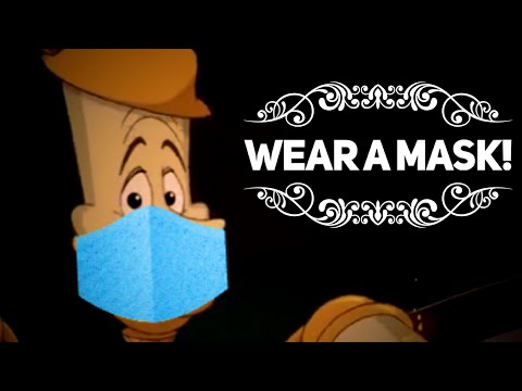 Wear a Mask (Be Our Guest Parody)