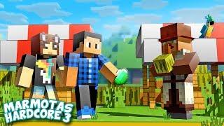Colocando os VILLAGERS para TRABALHAR! - Minecraft Marmotas Hardcore 3 #20