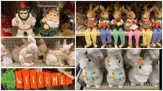 NEW EASTER AND SPRING HOME DECOR SHOP WITH ME AT HOBBY 2019
