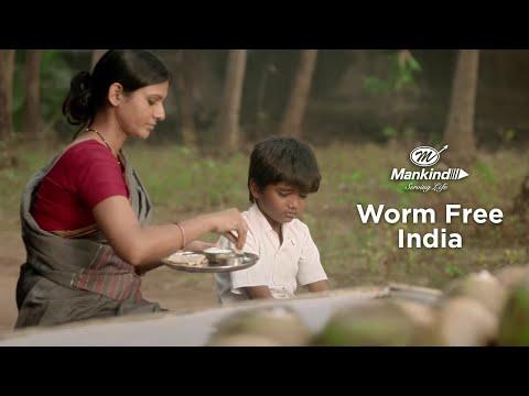 Worm Free India - A Mankind Pharma Initiative