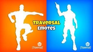 Fortnite Emotes that should be TRAVERSAL..!
