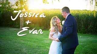Jessica & Evan // Wedding Highlight Film // Lake Pleasant, Indiana