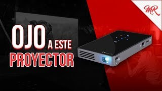 OJO con este PROYECTOR PORTATIL de AUN!! ◊ Marcos Reviews