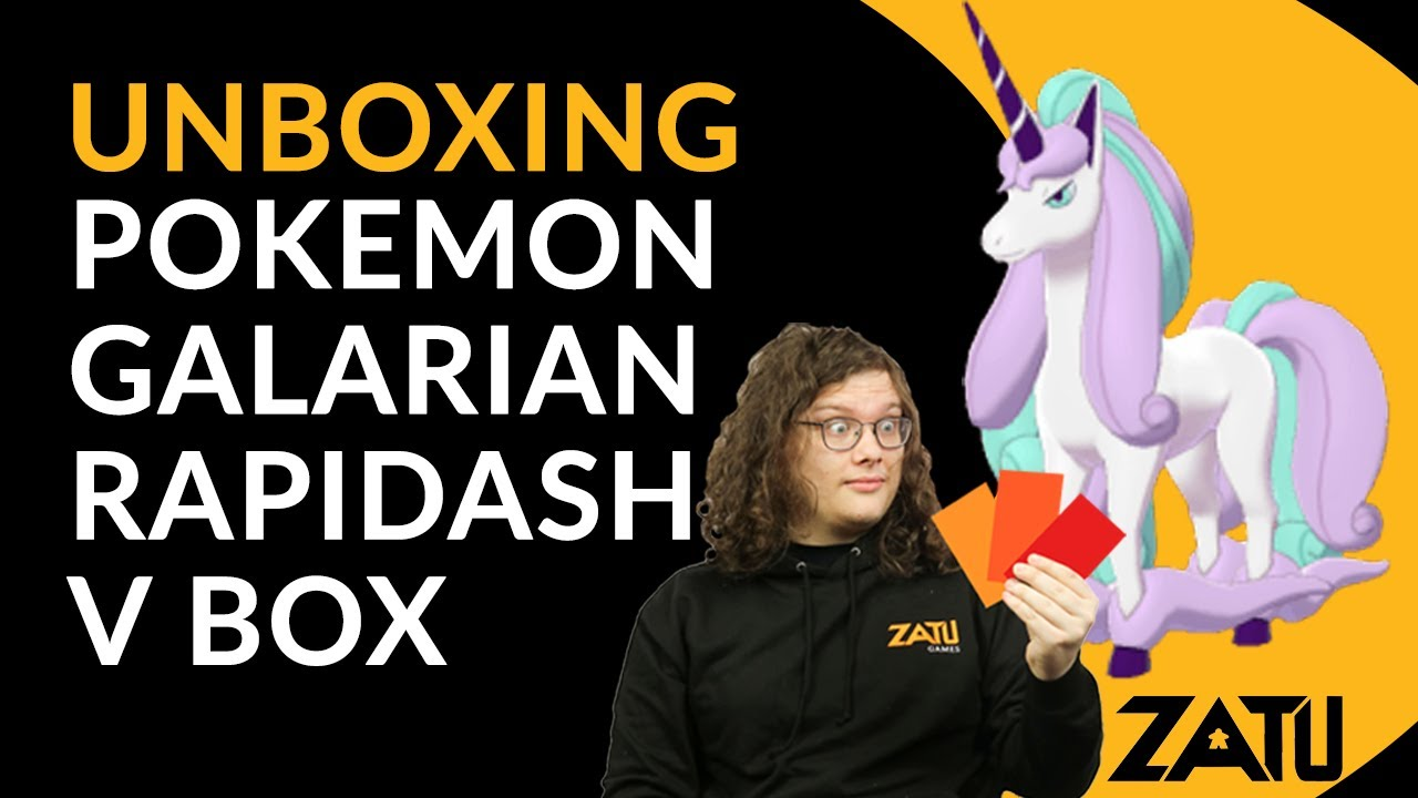 Opening 2 Galarian Rapidash V Boxes! - Pokemon TCG