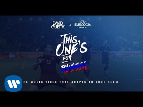 David Guetta ft. Zara Larsson - This Ones For You Croatia (UEFA EURO 2016™ Official Song)