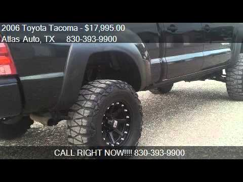 2006 Toyota Tacoma Double Cab Long Bed V6 Auto 4W - for sale