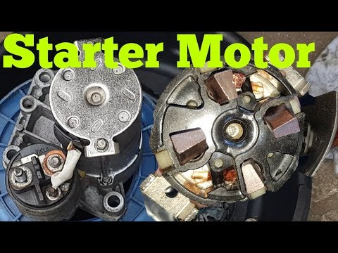 HOW TO REPAIR PEUGEOT PARTNER STARTER MOTOR ( PART 2 )