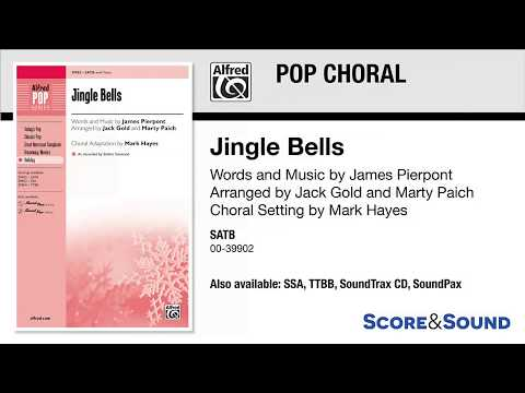 Jingle Bells, arr Jack Gold and Marty Paich – Score & Sound