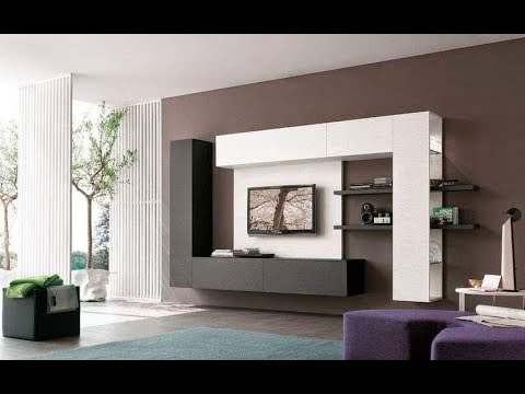 50 TV Cabinet Designs for Living Room & Dining Room