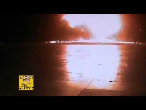 Russia Plane Crash 737 Caught On Camera: Surveillance Video Shows Terrible Jet Accident!