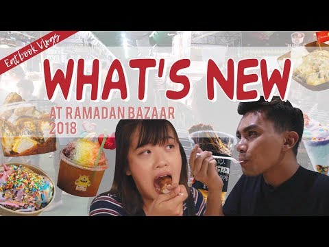 WHAT'S NEW AT GEYLANG SERAI RAMADAN BAZAAR 2018   Eatbook Vlogs   EP 57
