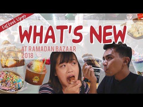WHAT'S NEW AT GEYLANG SERAI RAMADAN BAZAAR 2018 | Eatbook Vlogs | EP 57