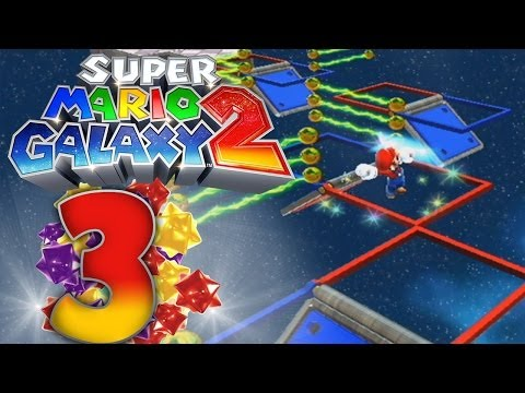 Let's Play Super Mario Galaxy 2 [100%] - Part 3 - Bohrviehdingsteil