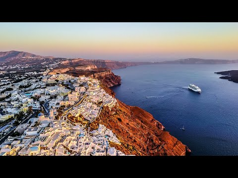 Santorini Greece Travel Video GoPro Hero & Karma Drone