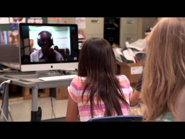 Schools in Nairobi, Kenya & Austin, Texas Meet Face-to-Face with Skype in the Classroom