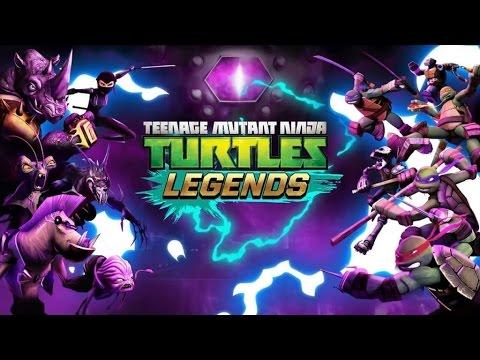 "(EPISODE 1,012) MOBILE GAMING: TEENAGE MUTANT NINJA TURTLES ""LEGENDS"" GAMEPLAY"