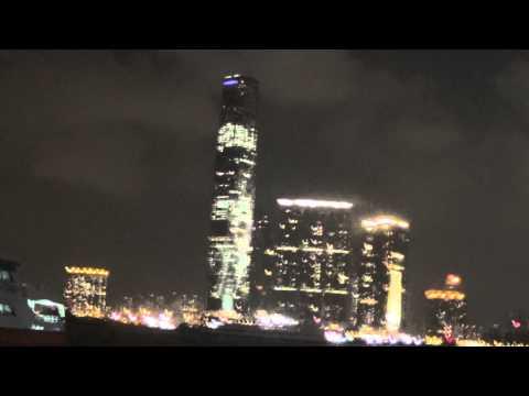 Hong Kong International Commerce Centre ICC FULL Lightshow