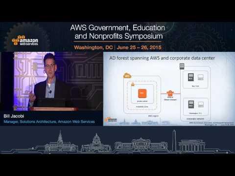 AWS Symposium - Washington, DC | Running Microsoft Workloads on AWS