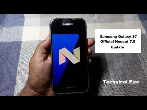 Samsung Galaxy S7/S7 Edge Official Nougat 7.0 New Software Update
