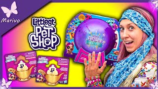 NIESPODZIANKI LPS  Kula Littlest Pet Shop Lucky Pets  Saszetki Zabawki dla dzieci Rozdanie