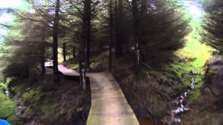 Rostrevor Mtb Trails Red Loop Wooden Trail 27 01 2014