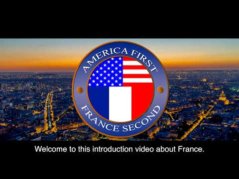 France welcomes Trump in his own words / America First - France Second
