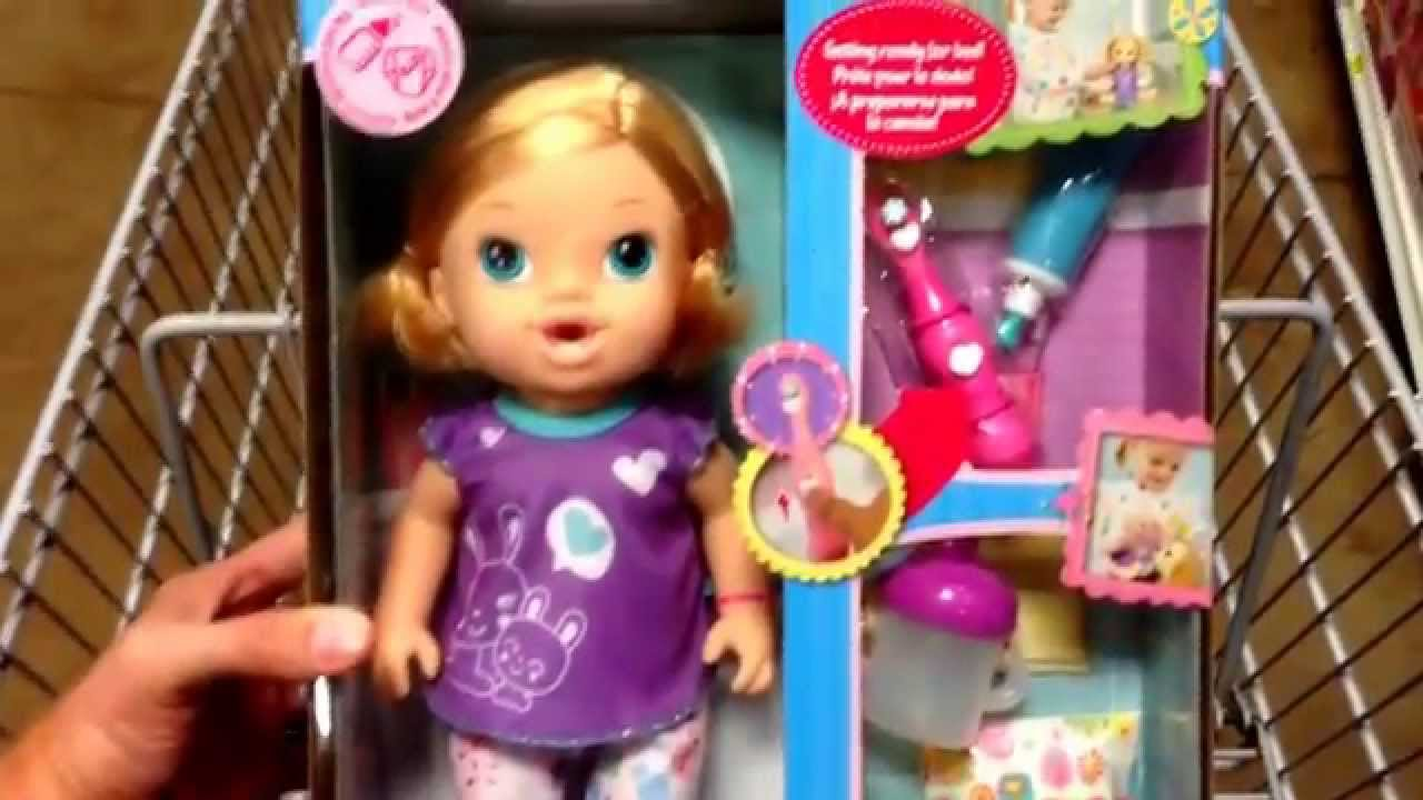 Baby Alive Quot Brushy Brushy Baby Quot Doll Toy Toy Review