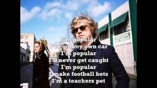 Nada Surf Popular Lyrics Youtube