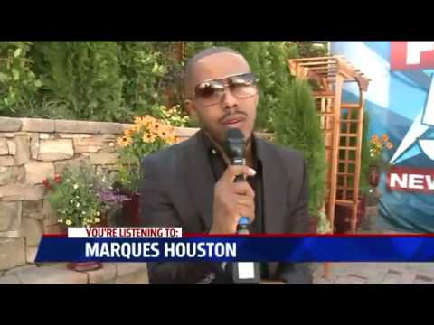"""Marques Houston  """"All Because of You""""  LIVE  AOL (HD)"""