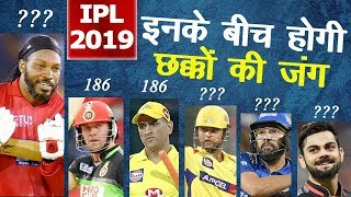 Chris Gayle on Top - Most Sixes Record in IPL History  - IPL All Time Records