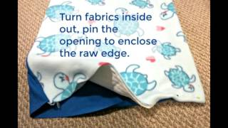 How to make a fleece cage liner for small pets