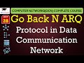 Go Back N ARQ Protocol in Hindi - Data Communication and Networking Lectures in Hindi