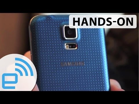Samsung Galaxy S5 hands-on | Engadget at MWC 2014