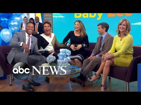 Ginger Zee surprised with maternity leave send-off celebration on 'GMA'