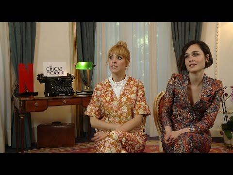 Nadia de Santiago y Maggie Civantos sobre 'Las chicas del cable'