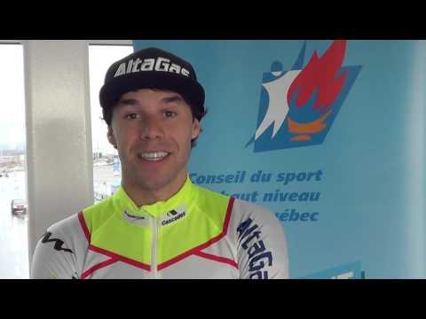 Alex Harvey et le Conseil du sport de haut niveau de Québec (CSHNQ)