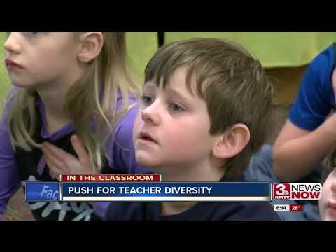 Nebraska pushes for more diverse teachers