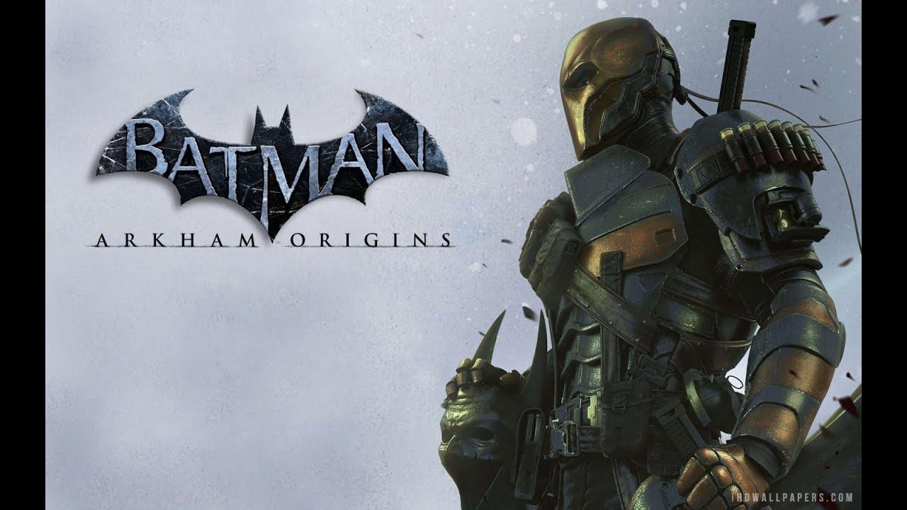 batman arkham origins deadstroke boss fight pc gameplay