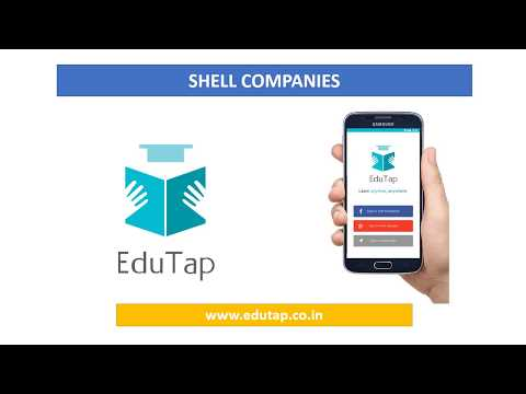 Shell Companies explained for RBI and NABARD Exam 2018