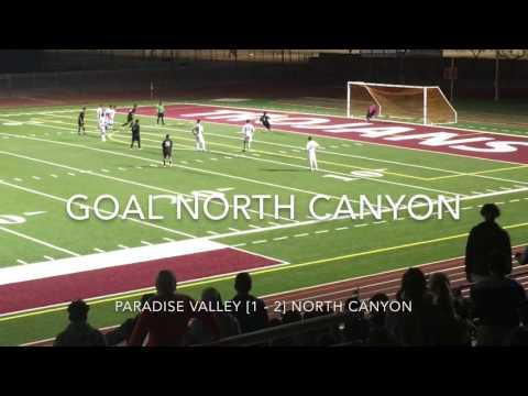 Highlights Boys Soccer: Paradise Valley High School [2 - 3] North Canyon High School