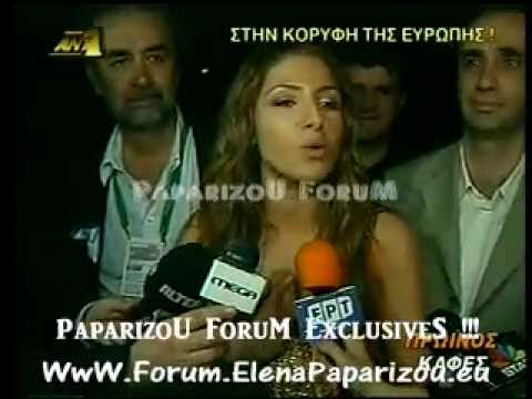 Helena Paparizou - Eurovision 2005 (Winning Night & European Report News)