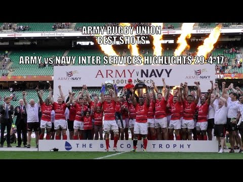 Army Rugby Union – Army vs Navy 'Best Shots' Highlights 29-4-17