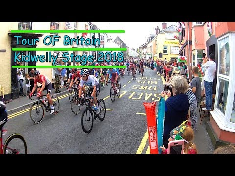 Tour Of Britain 2018 |   Stage 1   | Kidwelly Town