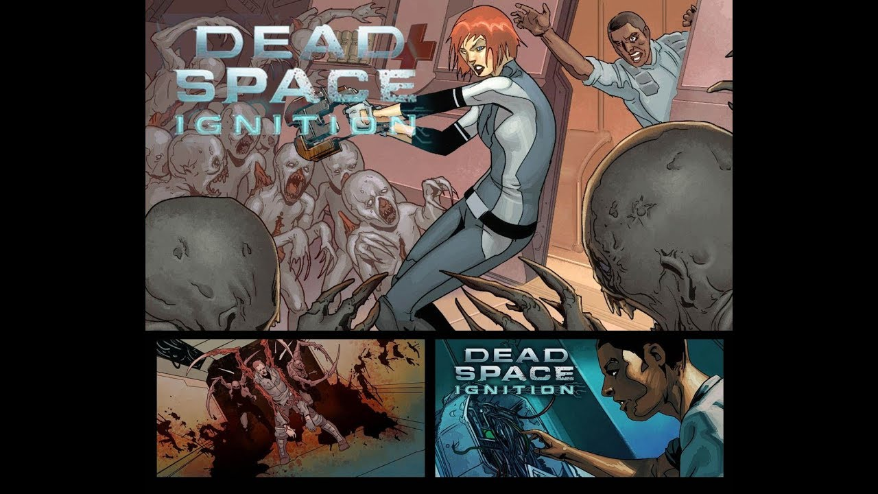 Dead Space Ignition All Cutscenes Game Movie Youtube
