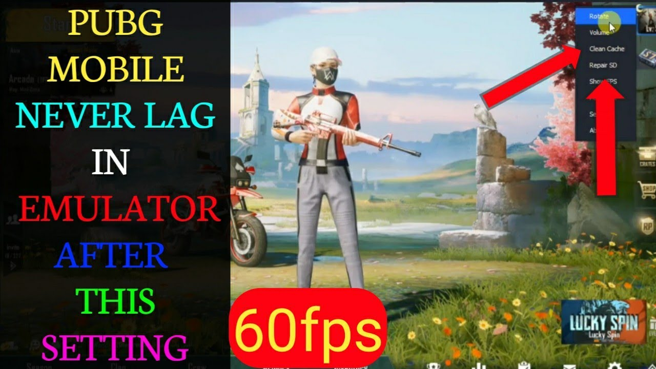 PUBG MOBILE LAG FIX ON EMULATORS 2019 - HOW TO FIX LAG IN PUBG MOBILE ON  EMULATOR 60FPS - Gaming Gods