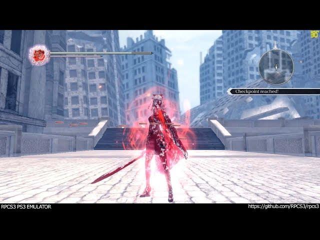 RPCS3 PS3 Emulator - Drakengard 3 Ingame! VULKAN (f613901 +