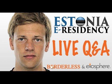 Estonia e-residency live Q&A with Kasper Korjus
